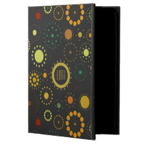 Colorful And Gray Abstract Stars & Circles Powis iPad Air 2 Case