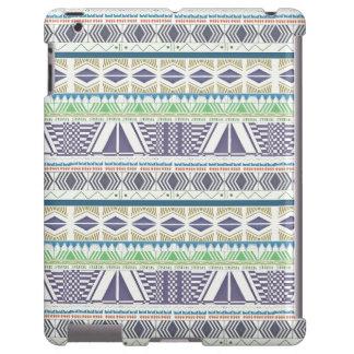 Colorful and Unique Aztec Art iPad Case
