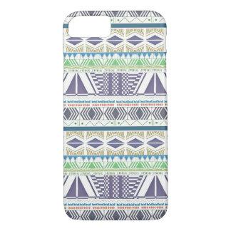 Colorful and Unique Aztec Art iPhone 7 case