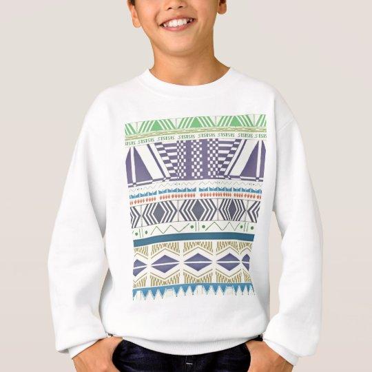 Colorful and Unique Aztec Art Sweatshirt