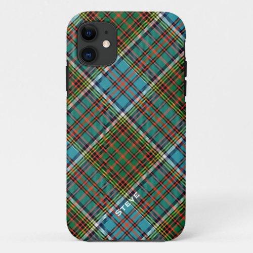 Colorful Anderson Clan Tartan Plaid Phone Case