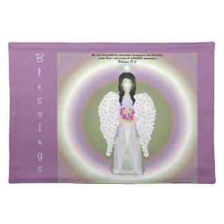 Colorful Angel Cloth Placemat