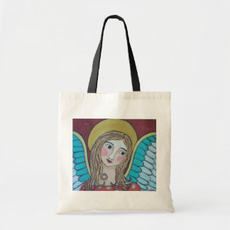 COLORFUL ANGEL TOTE BAG