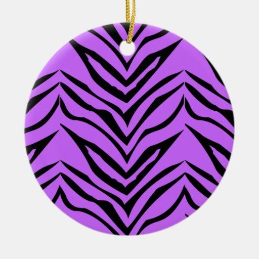 colorful animal print ornament zazzle