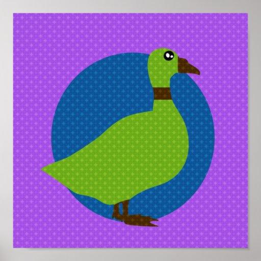 Colorful animals print