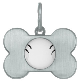 Colorful anime eyes 4 pet ID tag