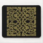 Colorful Antique Celtic Art - Intricate, Beautiful Mouse Pad