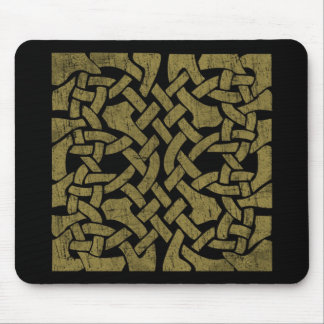Colorful Antique Celtic Art - Intricate, Beautiful Mouse Pads
