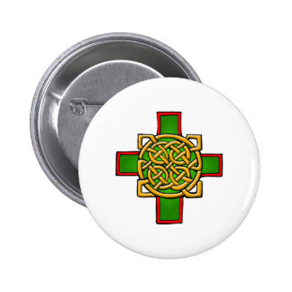 Colorful Antique Style Celtic Art Tees and Gifts 2 Inch Round Button