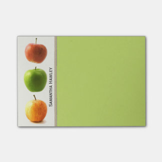 Colorful Apples Teacher's Note Pad