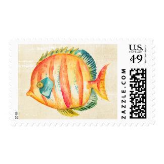 Colorful Aquarium Fish Postage