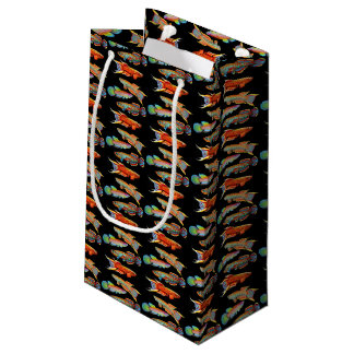 Colorful Aquarium Killifish Gift Bag Small Gift Bag