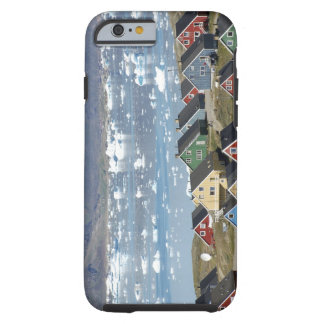 Colorful architecture of the town, Narsaq, Tough iPhone 6 Case