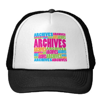 Colorful Archives Mesh Hats