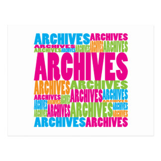 Colorful Archives Post Cards