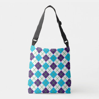 Colorful Argle Collegiate Design Bag