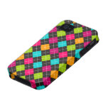 Colorful Argyle Pattern Design Case Mate iPhone 4 iPhone 4 Covers