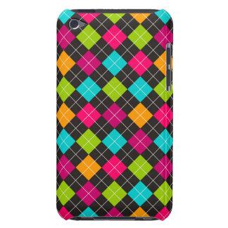 Colorful Argyle Pattern Design iPod Case-Mate Case