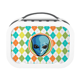 Colorful Argyle Pattern Yubo Lunch Box