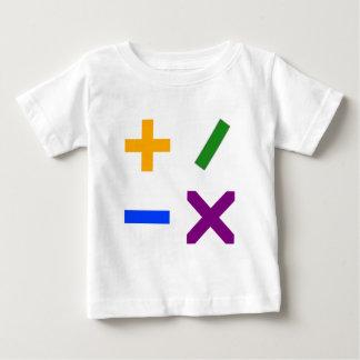 Colorful Arithmetic Symbols T-shirt