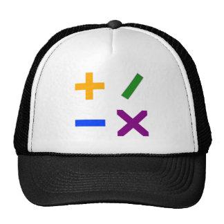 Colorful Arithmetic Symbols Trucker Hat
