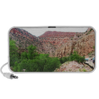 Colorful Arizona Canyon Train - Southwest Outdoors Mini Speakers