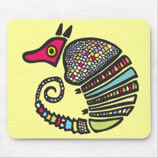 Colorful Armadillo Mousepad