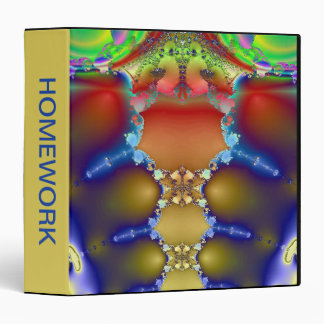 Colorful Armor 3 Ring Binder