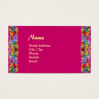 Colorful Art Business Card