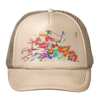 Colorful Art Trucker Hat