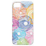 Colorful art illustration case iPhone 5 cases