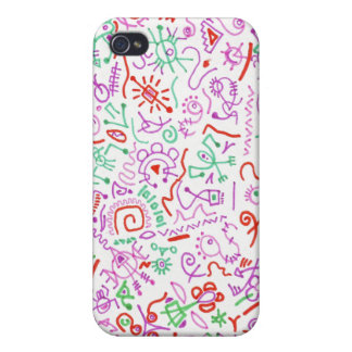 Colorful Art iPhone Case Cover For iPhone 4