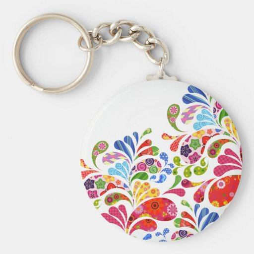 Colorful Art Keychains