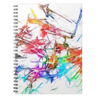 Colorful Art Notebook