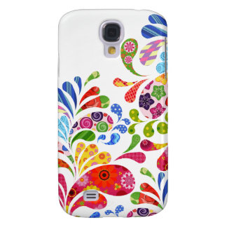Colorful Art Samsung Galaxy S4 Case