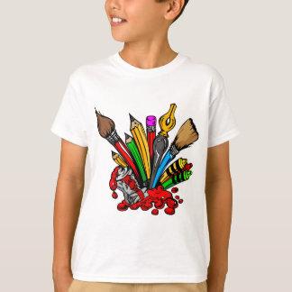 Colorful Art Supplies T-Shirt