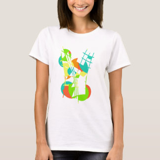 Colorful artistic apstraction T-Shirt