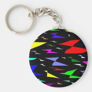 Colorful Artistic Butterflies Keychain