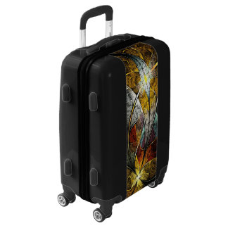 Colorful Artistic Fractal Luggage Suitcase