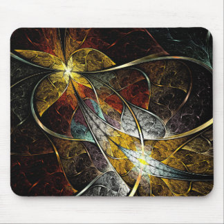 Colorful Artistic Fractal Mouse Pad