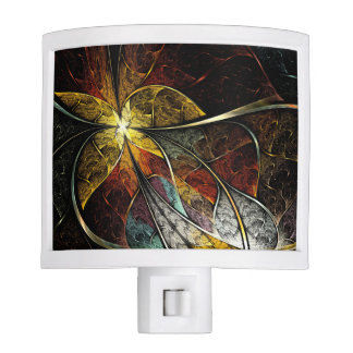 Colorful Artistic Fractal Night Light