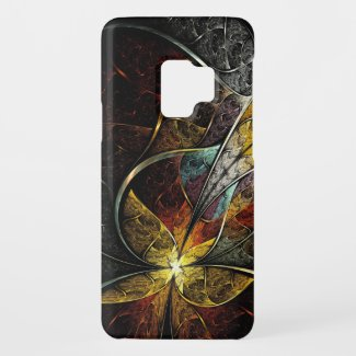 Colorful Artistic Fractal Samsung Galaxy S9 Case