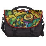 Colorful artistic salad veggies laptop bag