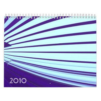 colorful artworks calendar