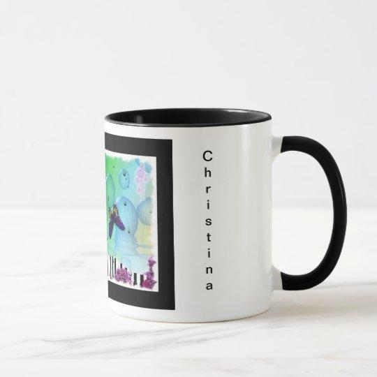 Colorful Arty Piano Coffee Mug