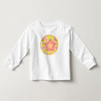 Colorful Asian Style Flower Ball Toddler T-shirt