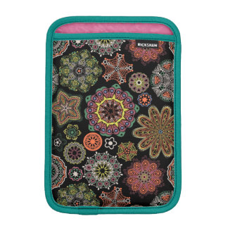 Colorful Assorted Geometric Ornaments Pattern Sleeve For iPad Mini
