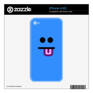Colorful Assorted Smileys(See Description) Decal For The iPhone 4