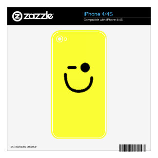 Colorful Assorted Smileys(See Description) iPhone 4S Decals
