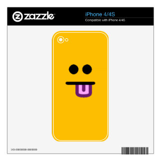 Colorful Assorted Smileys(See Description) Skins For iPhone 4